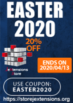jextensionstore easter partner coupon