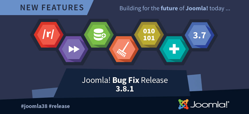 New Joomla 3.8.1 Update & JoomISP
