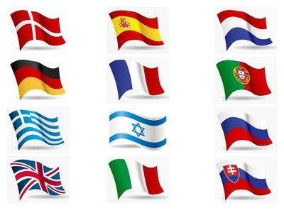 flags languages